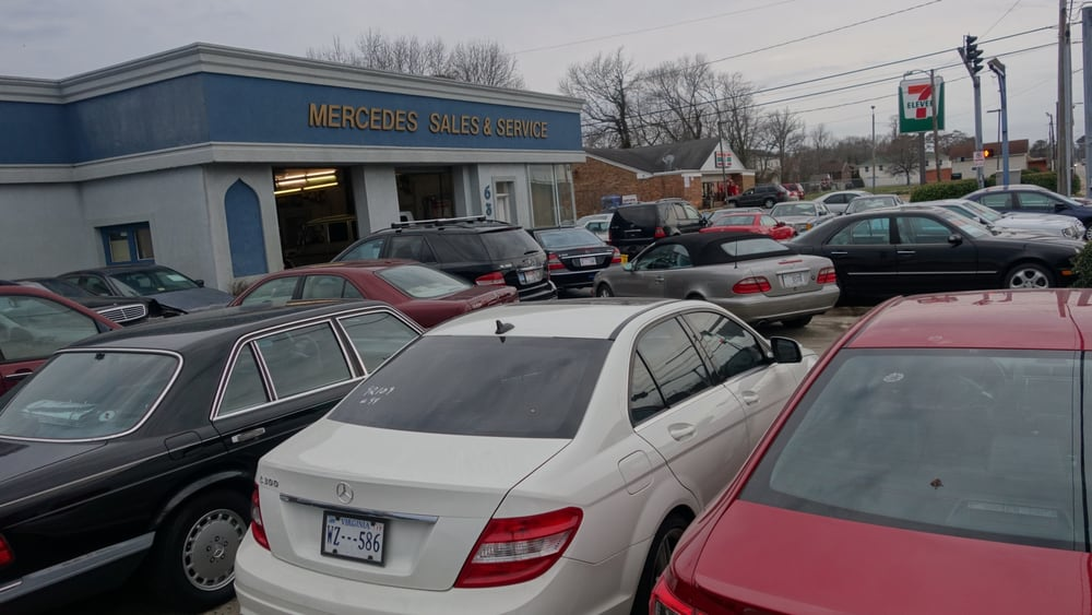 Mbh mercedes benz specialists garages 635 virginia for Mercedes benz virginia beach