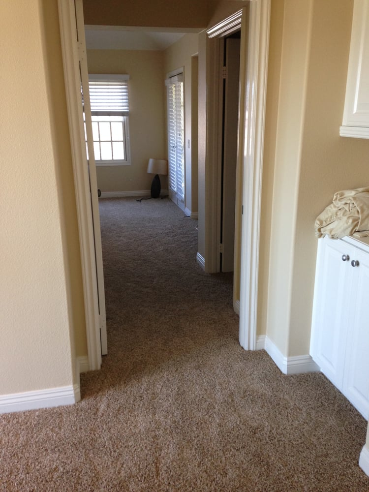 how to clean dirty carpet along baseboards
