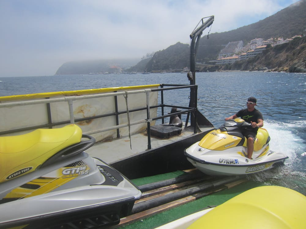 Barge Water Craft Rental: 101 Pebbly Beach Rd, Avalon, CA
