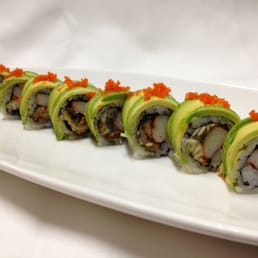 Sakana Japanese Restaurant - Nanuet, NY, United States. Dragon Roll