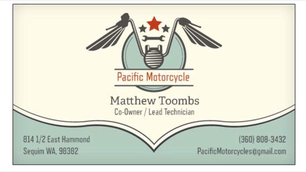 Pacific Motorcycle: 814 1/2 E Hammond St, Sequim, WA