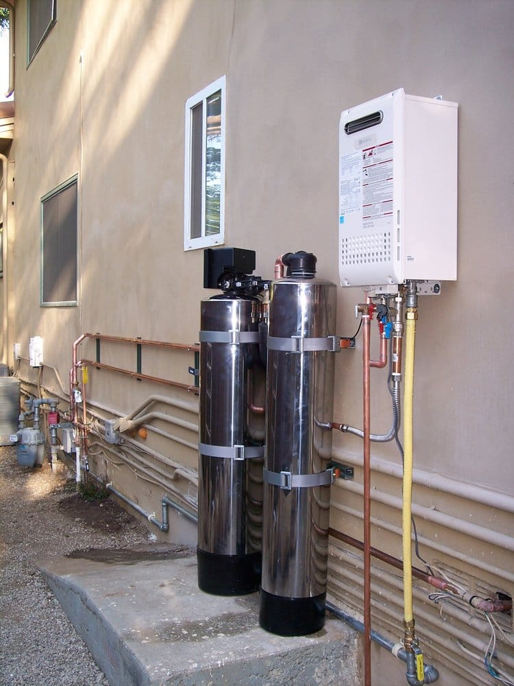 whole house water filtersoftener alternative and Noritz tankless