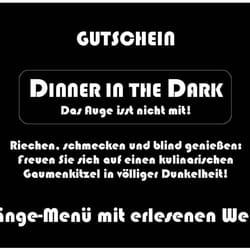 nylon cafe straubing dinner in the dark