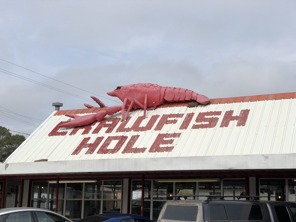 Food from Crawfish Hole