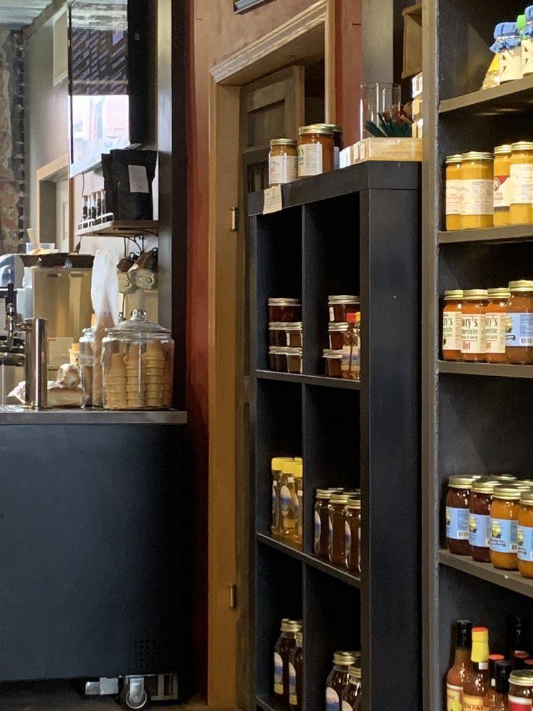 The Delmonte Market Creamery: 314 Railroad Ave, Elkins, WV