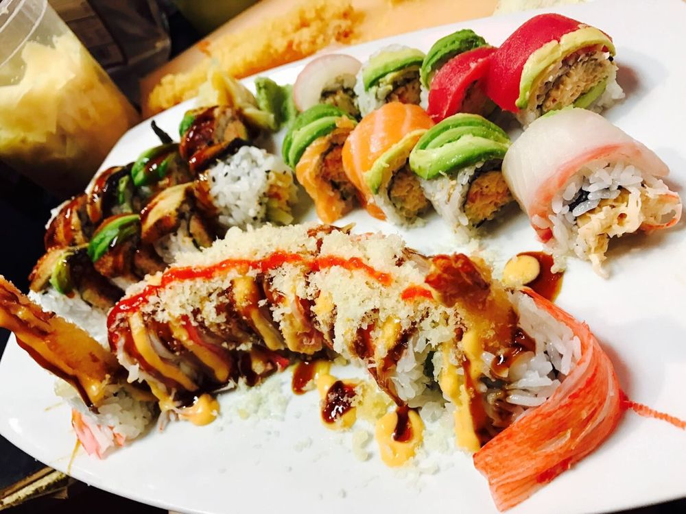 Ninja Steak Sushi House: 235 S Burlington Ave, Hastings, NE