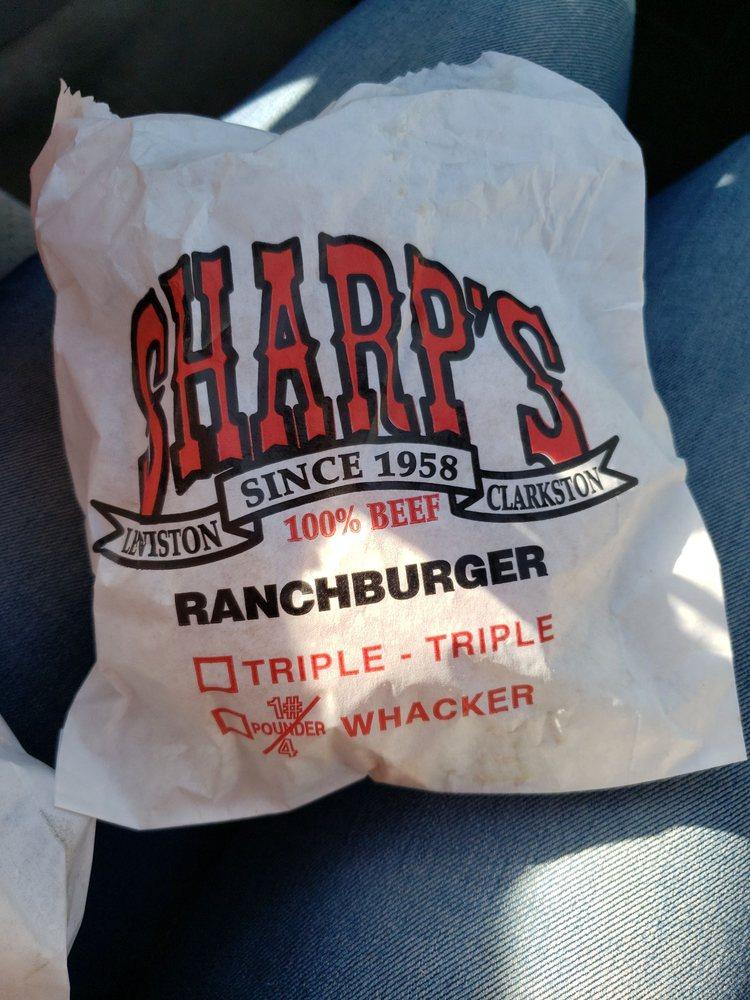 Sharp's Burger Ranch: 1227 21st St, Lewiston, ID