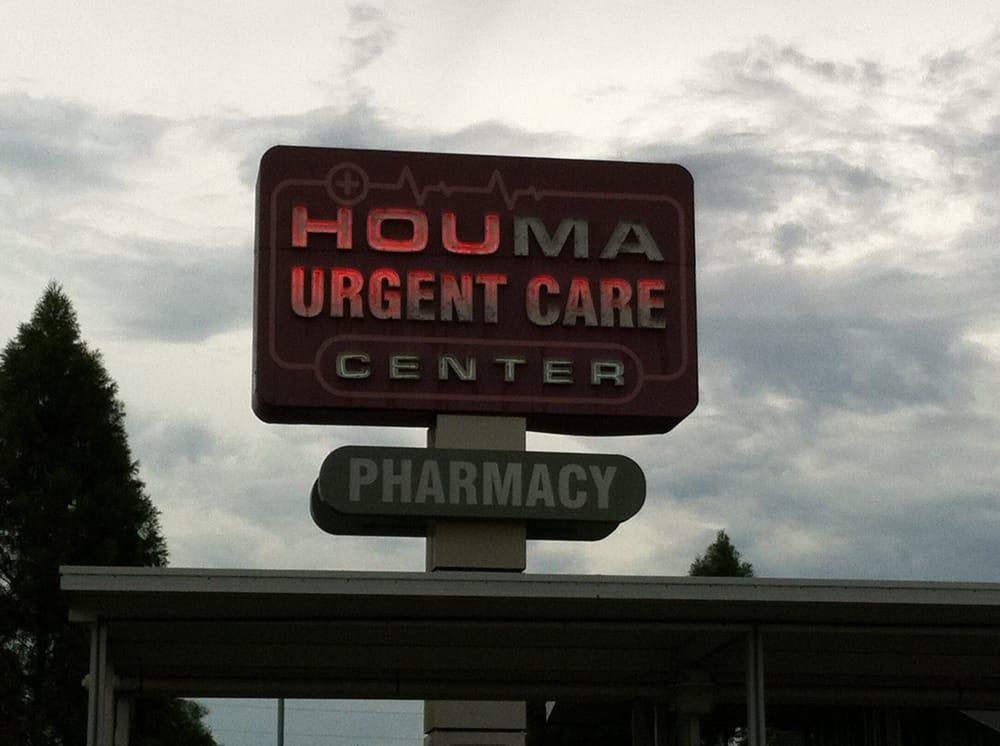 Houma Urgent Care Center: 131 Corporate Dr, Houma, LA