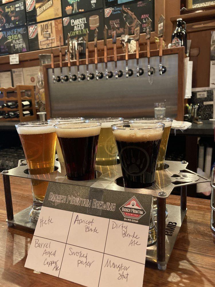 Badger Mountain Brewing: 1 Orondo Ave, Wenatchee, WA