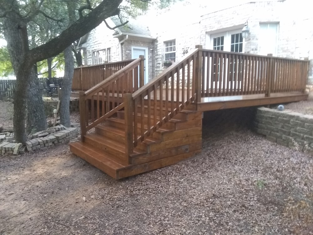 Triple AAA Fence Staining: 5387 Hwy 56, Bells, TX