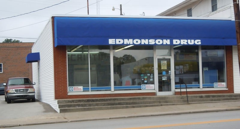 Edmonson Drugs: 432 South Main Street, Brownsville, KY