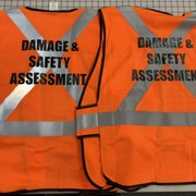 e6ab7603 Car lettering done at Photo of Spectracolor - Simi Valley, CA, United  States. Safety vest personalized with ...