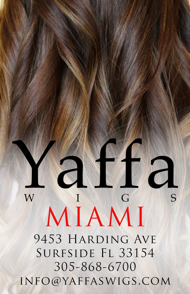 Yaffa Wigs: 9453 Harding Ave, Surfside, FL