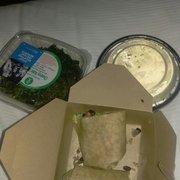 CK Burrito, Mac N Cheese And Kale Chips