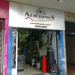 c8856f370 Az de Espadas - Artigos Esportivos - Avenida Vicente Machado