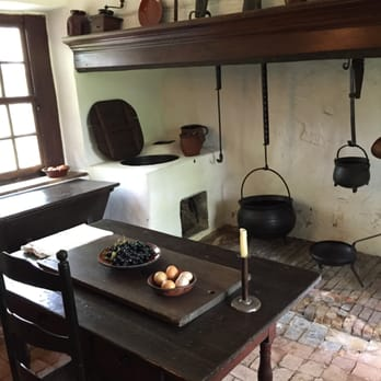 Photo Of Ephrata Cloister   Ephrata, PA, United States. Kitchen Area In  Historical