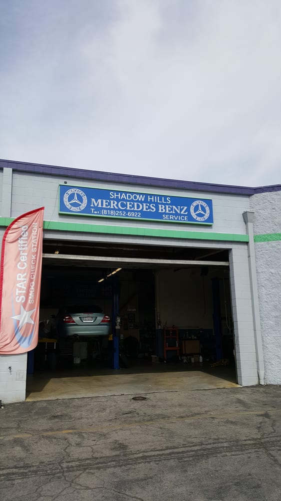 Shadow hills mercedes benz 15 reviews auto repair for Mercedes benz service los angeles