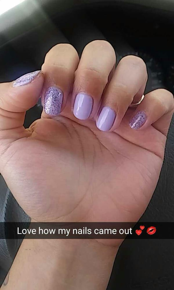 My nails look great xD kat suggested this color style :)) loved it ...