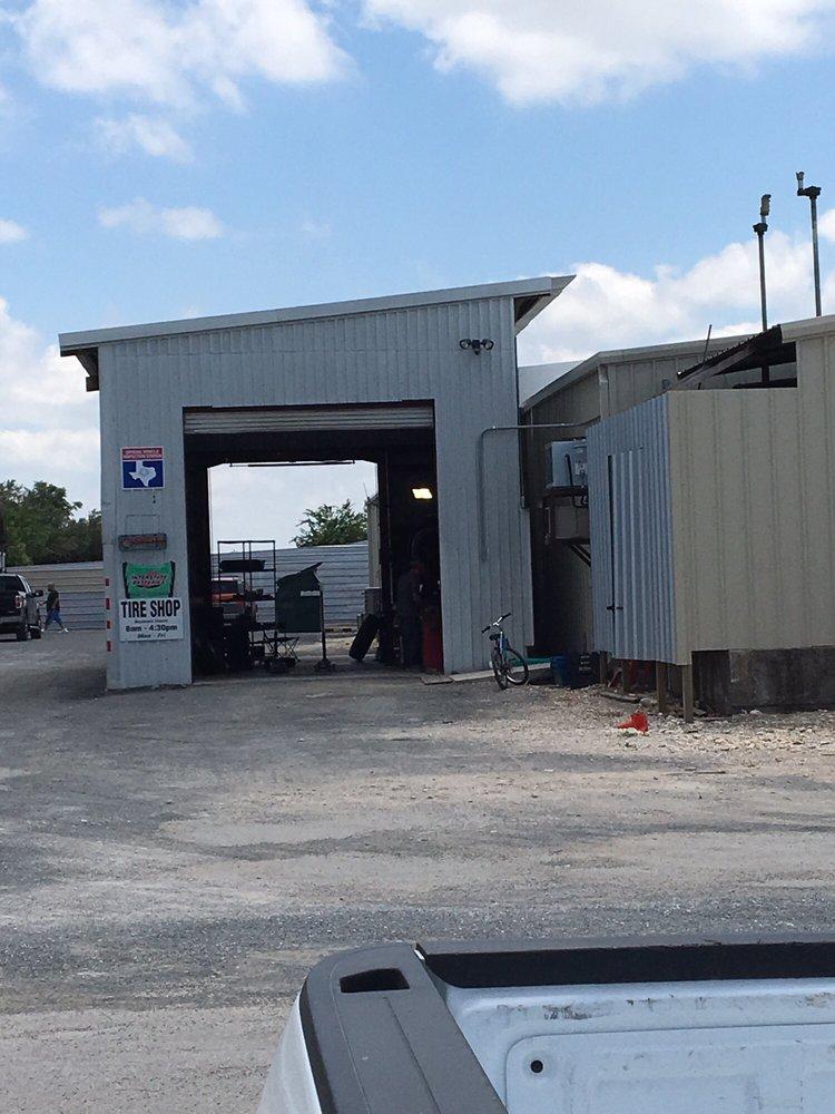 Tire Shop: US-83, Leakey, TX