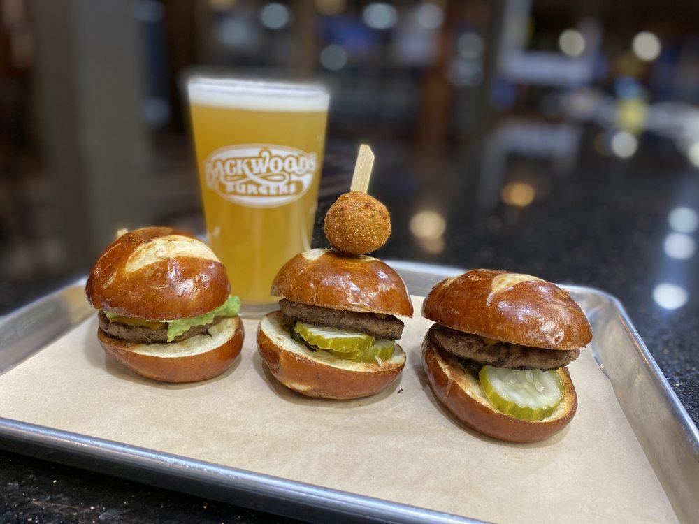 Backwoods Burgers: 1214 W F St, Oakdale, CA