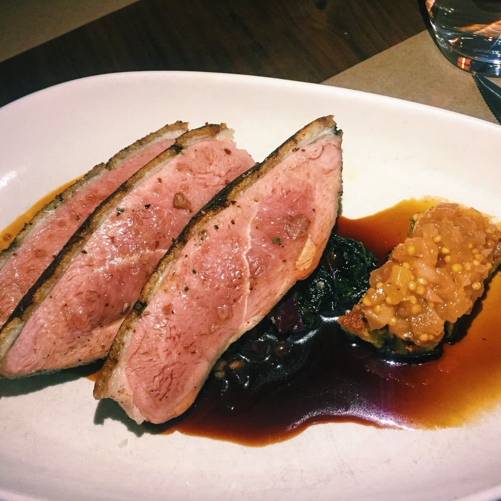 Roasted Spiced Duck Breast Yelp