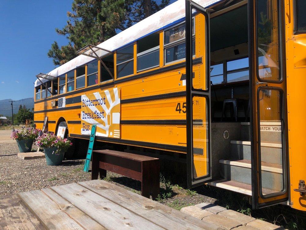Bitterroot Breakfast Bus: 5477 US Hwy 93, Florence, MT