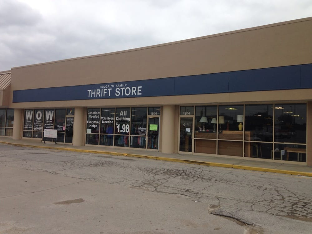Frugal's Family Thrift Store: 4804 S Noland Rd, Kansas City, MO