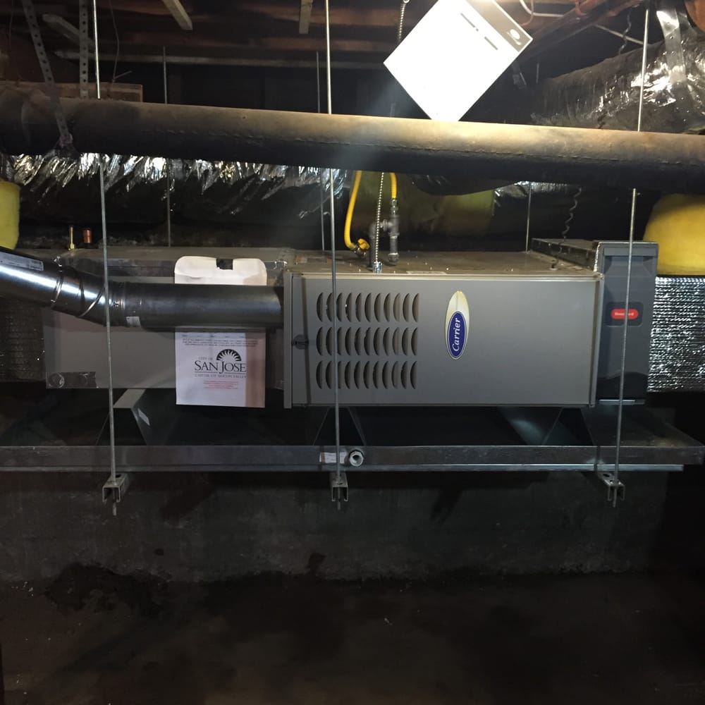 Furnace Replacement 80% 2 Stage Variable Speed Suspended