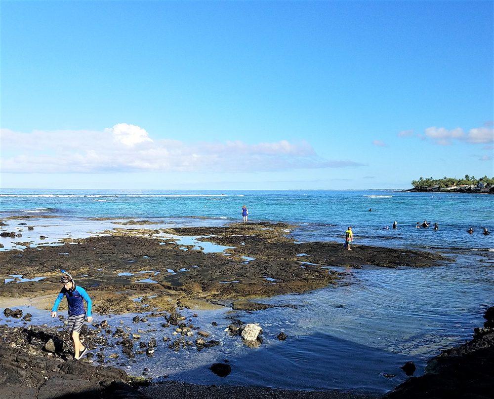 Kahalu'u Beach Park: 786702 Ali'i Dr, Kailua-Kona, HI