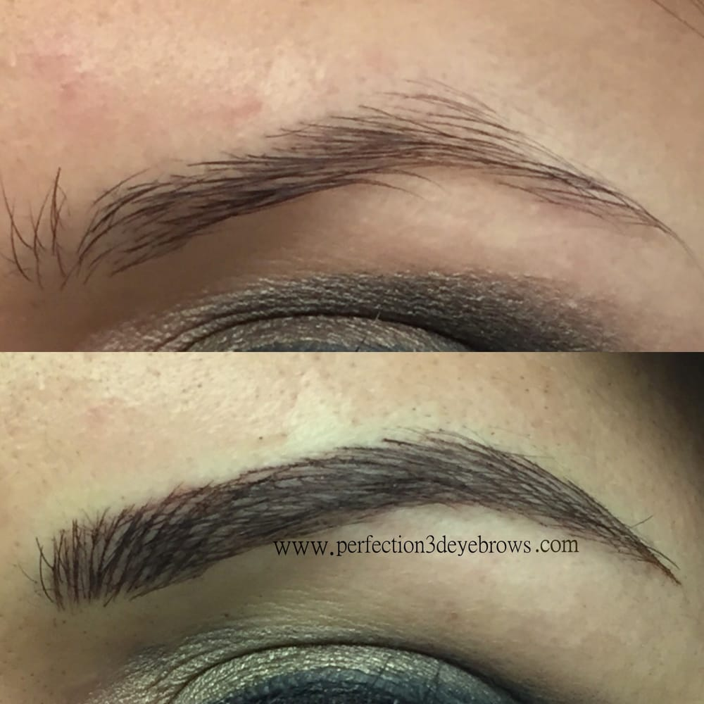 Photos for perfection 3d eyebrows yelp for Eyebrow tattoo men