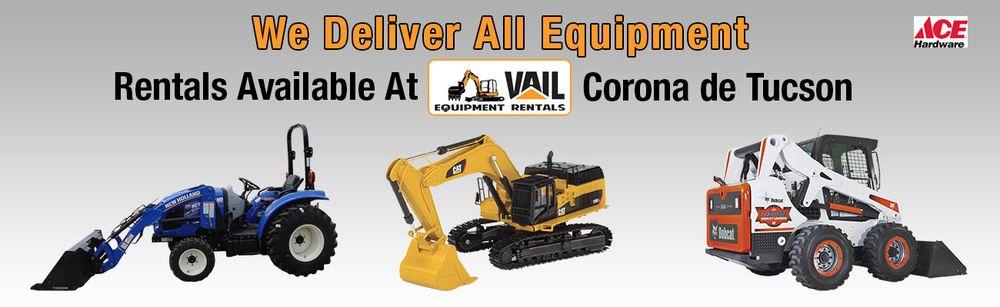 Vail Equipment Rentals: 16100 S Sahuarita Pl, Sahuarita, AZ
