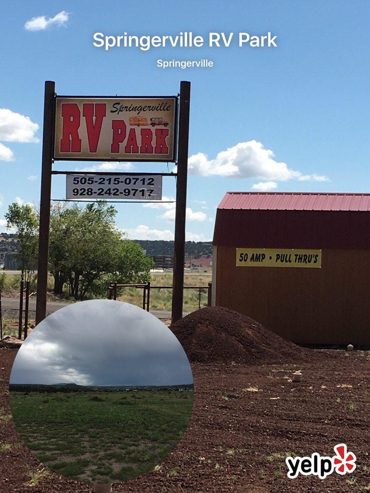Springerville RV Park: 1630 E Main St, Springerville, AZ