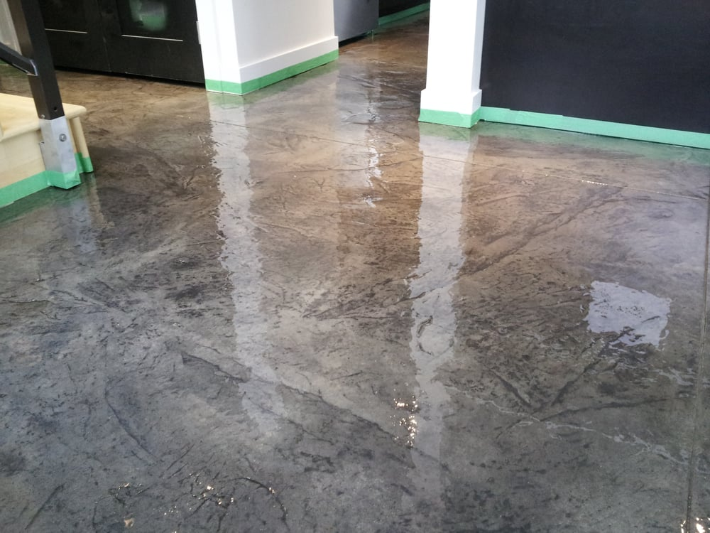 clear concrete epoxy clear epoxy stamped concrete yelp 2241