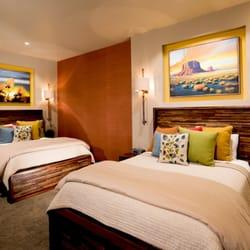 Photo Of Desert Rose Resort Cabins Bluff Ut United States Courtyard