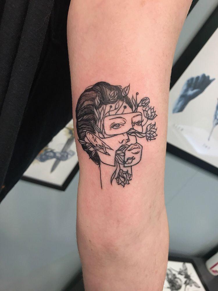 Positronic Tattoo: 1918 E Capitol Dr, Shorewood, WI