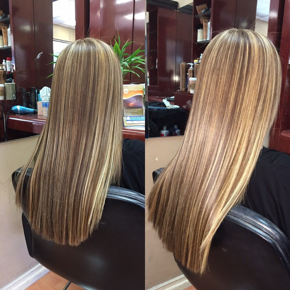 Highlight Long Hair Color Best Hair Salon Irvine Best Colorist Color