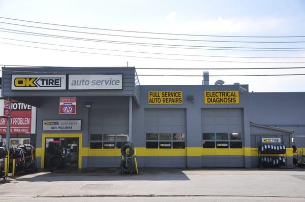 tire auto service request  quote auto repair  cambridge street port coquitlam