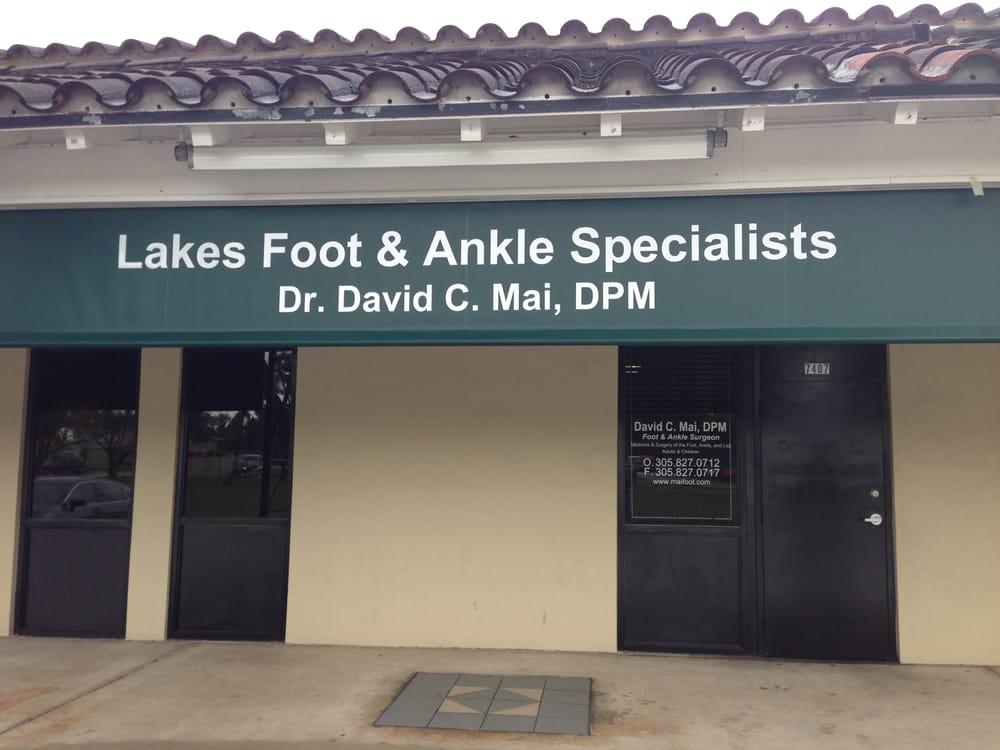 Lakes Foot & Ankle Specialists: 7407 Miami Lakes Dr, Miami Lakes, FL