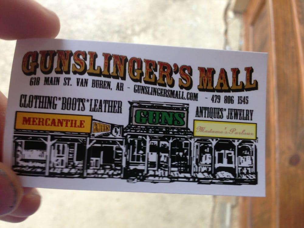 Gunslingers: 618 Main St, Van Buren, AR