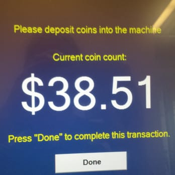 navy federal credit union coin machine