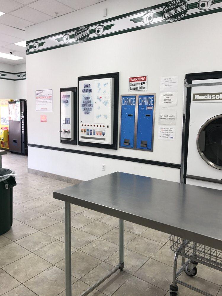 Greensburg Laundromat: 1075 S Main St, Greensburg, PA