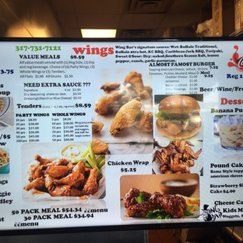Wing Bar Order Food Online 28 Photos 18 Reviews Chicken