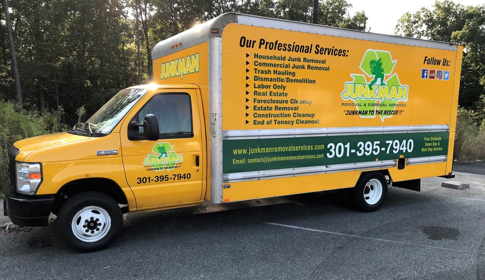 Junkman Removal & Disposal Services: 6368 Coventry Way, Clinton, MD