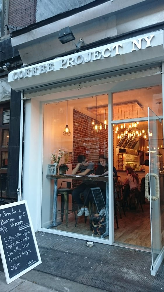 Social Spots from Coffee Project New York | East Village