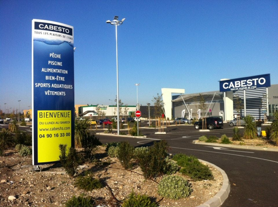 Cabesto grands magasins zone commerciale avignon nord - Zone commerciale amiens nord ...