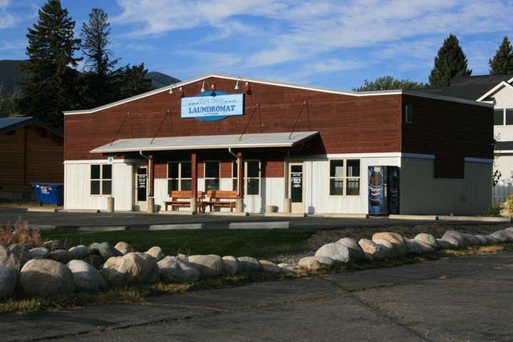 Rock Creek Laundromat: 1101 S Broadway Ave, Red Lodge, MT