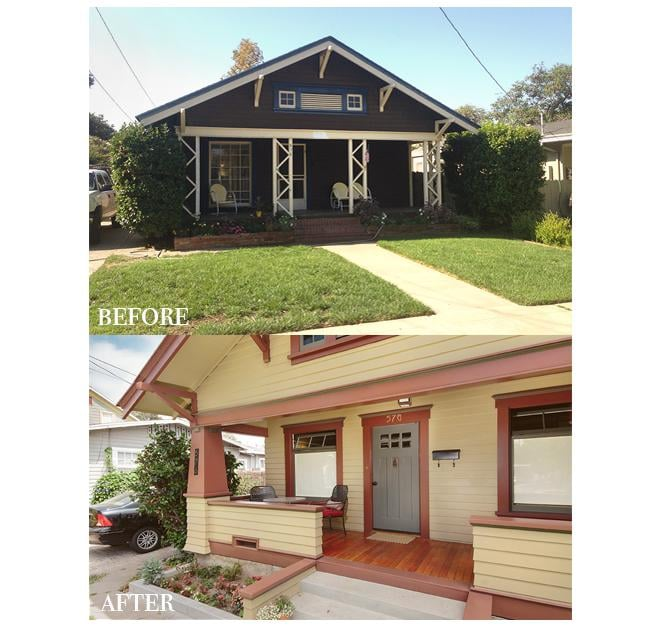 Front Elevation Before And After : Before and after front elevation yelp