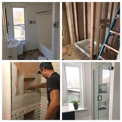 Collar City Craftsman LLC Ida St Troy NY Remodeling Repairing - Bathroom remodeling troy ny