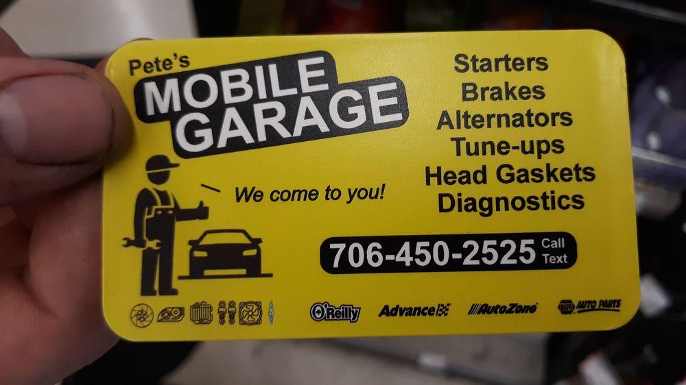 Pete's Mobile Garage: Athens, GA