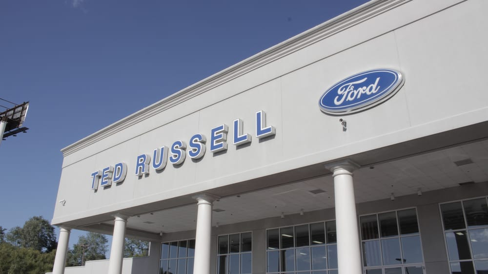 ted russell ford lincoln - 27 photos - tires - car dealers - 9925